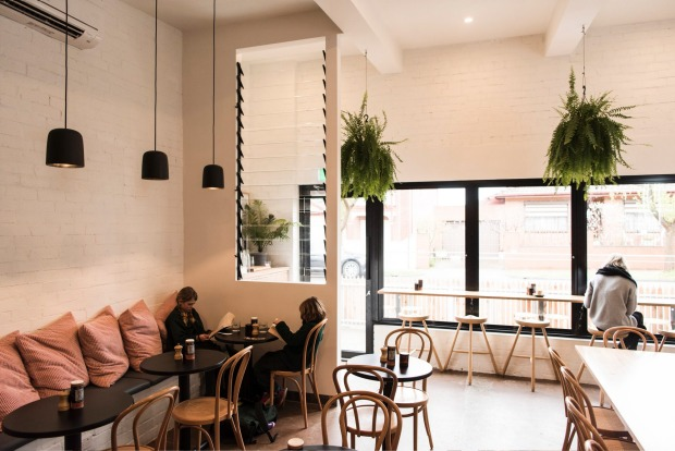 After-school treat: a milkbar has been transformed into Dumbo cafe in West Footscray.