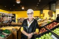 Food relief: OzHarvest's Ronni Kahn at her rescued food supermarket in Sydney.