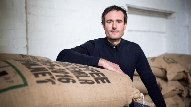 Small Batch roasts about 1500kg of coffee beans a week.