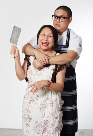 Dan Hong and his mother Angie Hong.