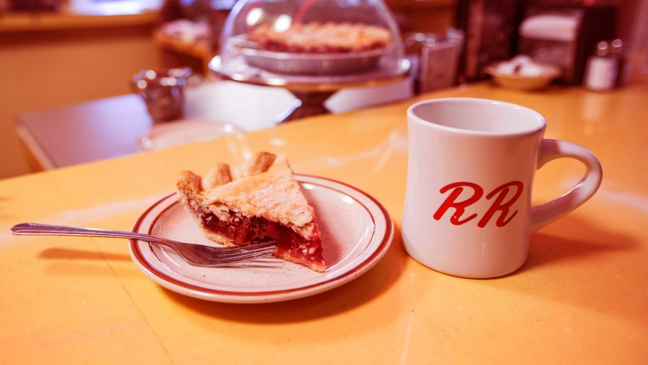 """The """"damn good pie"""" at Double R."""