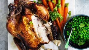 Adam Liaw's classic roast chicken.