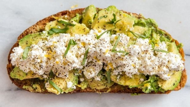 Avocado on toast - also much derided.