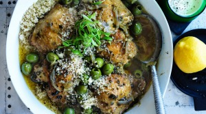 Neil Perry's Middle Eastern chicken casserole.