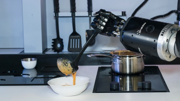The Moley Robotic Kitchen will roll out for domestic use in 2018.