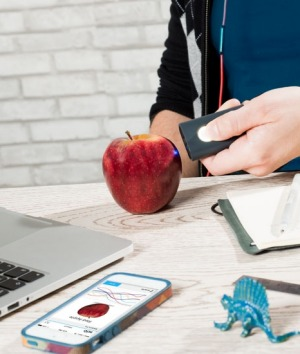The SCiO is a molecular scanner designed for everyday use, linked to a smart phone app.