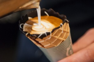 Choc-coffee combo: Caffeine addicts and chocoholics beware.