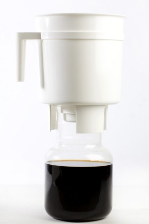 The Toddy cold brew coffee maker.