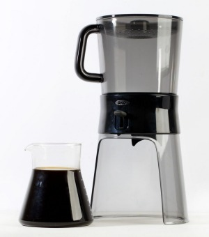 The Oxo cold brew coffee system.