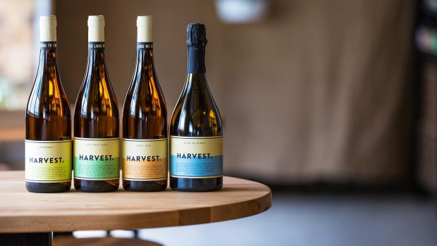 Taste the line-up of Harvest wines.