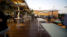 Imperial Hotel Bourke St Restaurant Area Outdoor Seating
