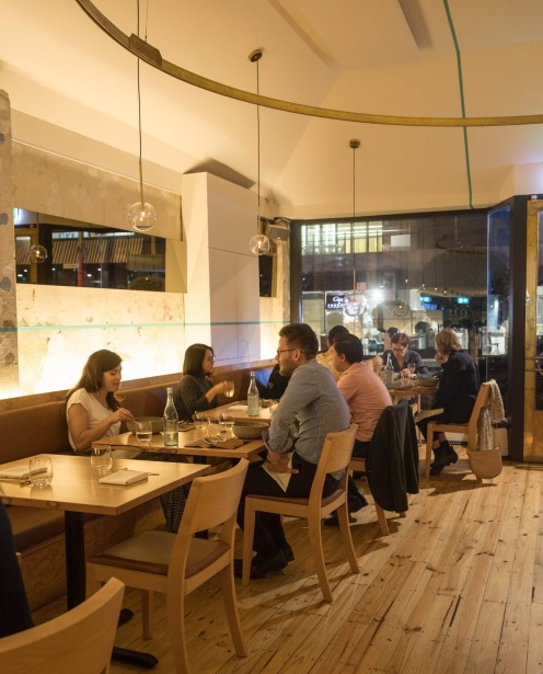 Atlas Dining in South Yarra, Melbourne, changes cuisines every four months.
