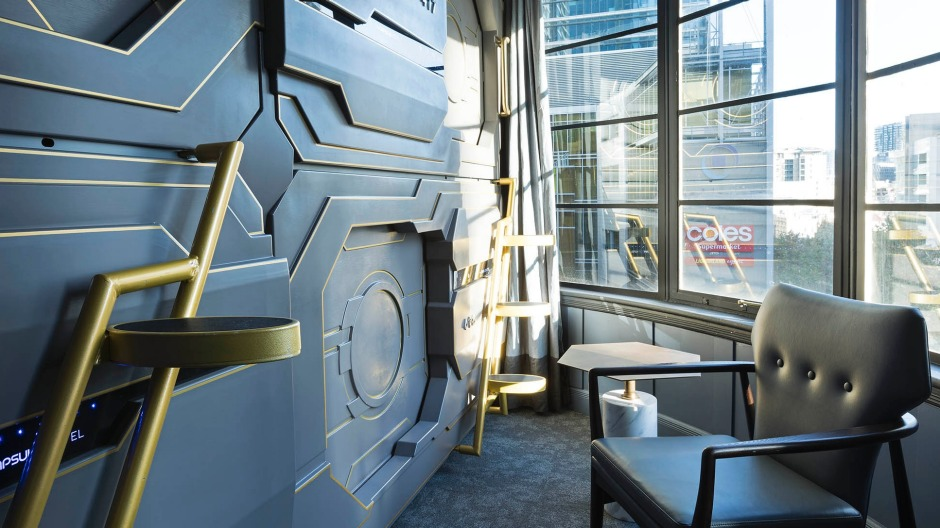 The Capsule Hotel has opened above Bar Century, which has undergone a significant makeover, courtesy of Ed Kenny from ...