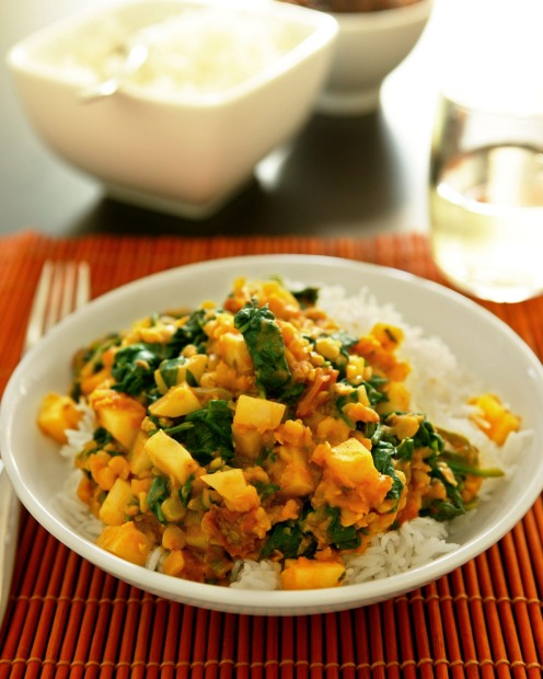 <b>Spinach:</b> Not sure what to do with that mountain of spinach? Try Jill Dupleix's tasty, nourishing dhal (it uses ...