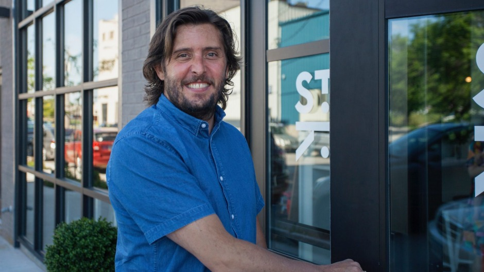 Alex Hall has opened an Australian-style cafe called St Kilda in Des Moines, Iowa.