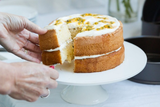 Anneka Manning's step-by-step sponge cake guide, including why you should use hot milk and cut the cake vertically <a ...