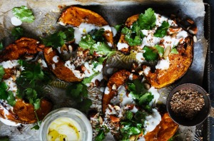 Neil Perry's spiced roast pumpkin (see recipe below).