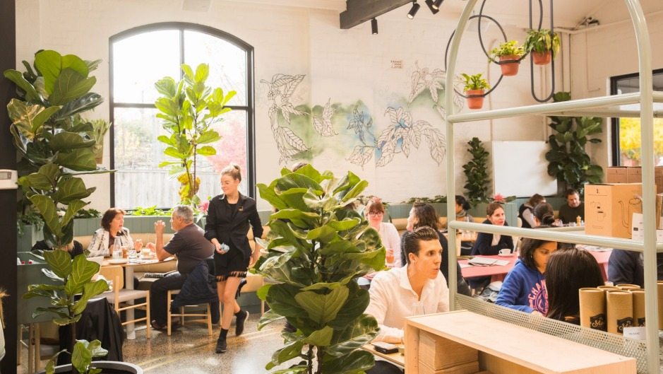 Ambitious: inside Abbotsford's 200-seat cafe AU79.