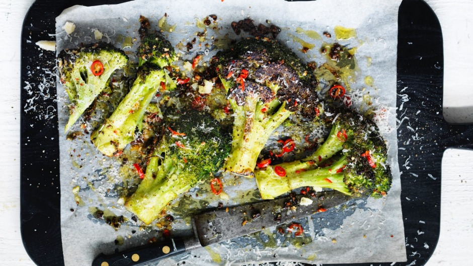 This roasted broccoli is the perfect side dish to any meal.