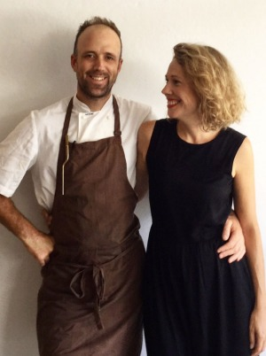 Josh Lewis and Astrid McCormack of Fleet restaurant.