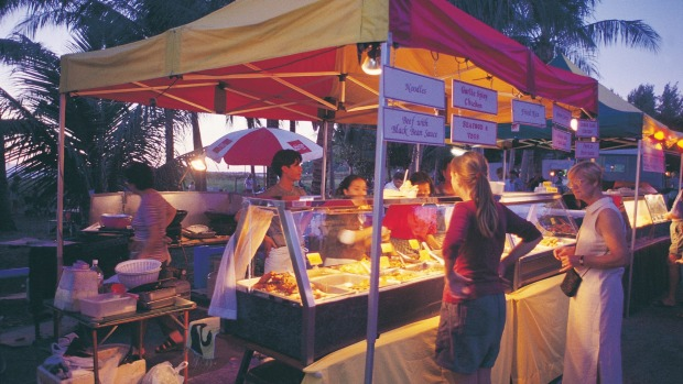Arrive early for the Mindil Beach Sunset Markets.