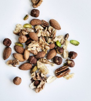 Nuts and seeds punch above their weight.