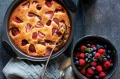 Go gluten-free with Three Blue Ducks' strawberry and white chocolate almond cake.