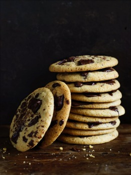 Secret ingredient chewy choc-chip cookies: Keep people guessing with this delicious recipe. <a ...