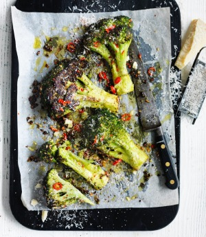 Eat your (seasonal) greens, such as broccoli.