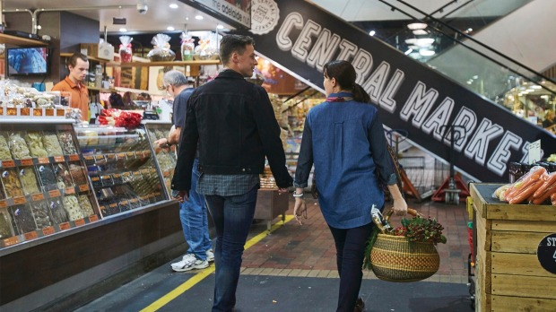 Shop from more than 80 traders at Adelaide Central Market.