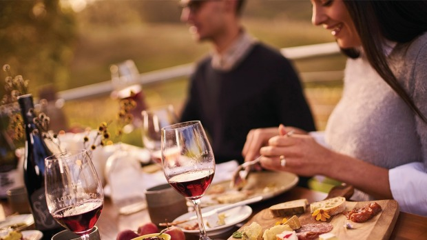 Enjoy lunch at the picturesque Mount Lofty Ranges Vineyard.