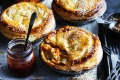 Love your leftovers: Dan Lepard's pepperpot pork pies.