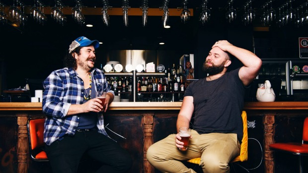 Lansdowne owners Jake Smyth (left) and Kenny Graham have given the pub a gentle makeover.