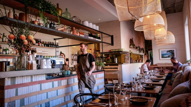 All-day tapas: inside Nomada Cafe y Tapas in Fitzroy.