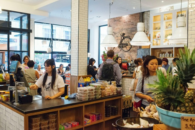 Boon Cafe in Haymarket featured in The Sydney Morning Herald's top 20 cafes list for 2017.