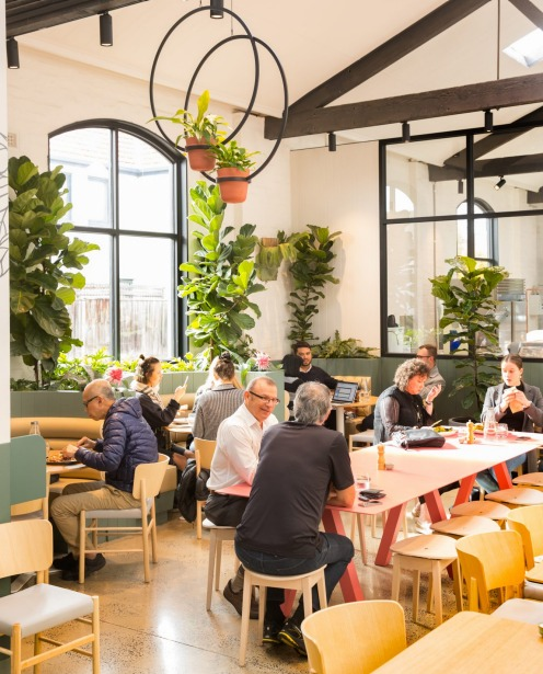 Going for gold: inside the ambitious AU79 cafe in Abbotsford.