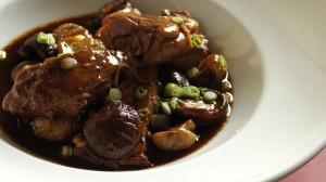 This duck braise will feature on the Jade Temple menu.