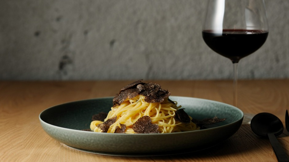 Pasta, truffle and nebbiolo. The entire menu at OUT.