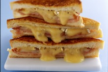 Which cheese works best in a toasted sandwich?