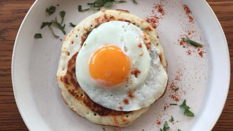 Uthappa, it's what's for breakfast at the new cafe by the Bombay by Night family.