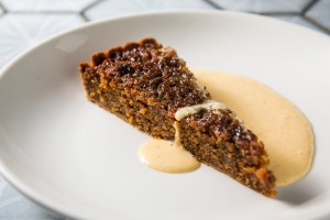 Go-to dish: Treacle tart.