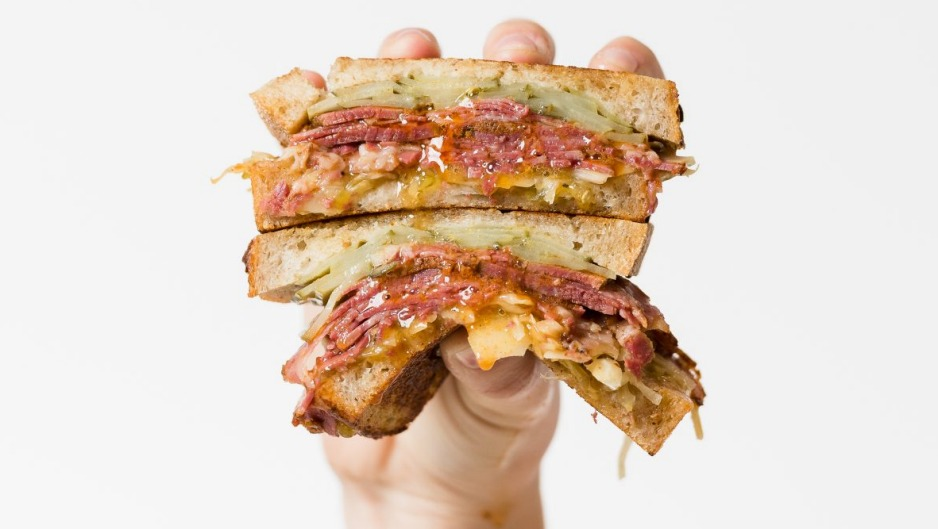 This beef and pickle sandwich from Hector's Deli was tasted as part of Gemima Cody's first assignment for the year.