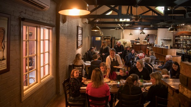 Hot stuff: The Woodhouse in Bendigo.