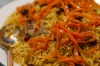 Pulao/pulaw rice from Kabul House restaurant in Merrylands.