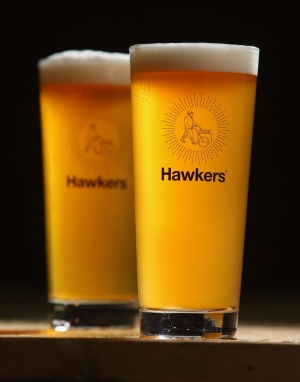 Hawkers pale ale.