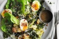 Hail kale! Adam Liaw's winter Caesar salad.