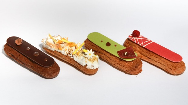 Christy Tania's frozen eclairs.