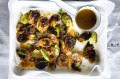 Miso butter brussels sprouts, the perfect side.