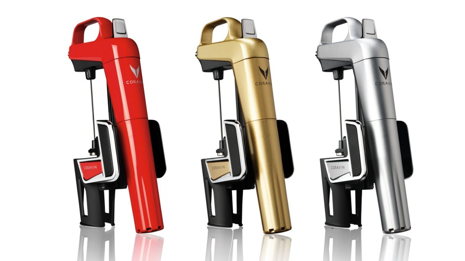 For well-heeled wine fiends: the Coravin Model Two Elite.