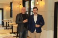George and Anthony Karnasiotis are opening Mr Spofforth in Mosman.